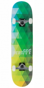 "Enuff Geometric Skateboard | 8"" Green"