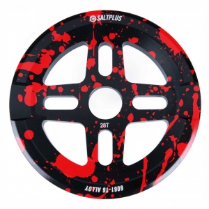 Salt Plus Orion Guard Kettenblatt BMX MTB Dirt | Black Red