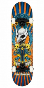 "Birdhouse Stage 3 Emblem Circus Skateboard | 7.75"" Orange"