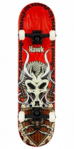 "Birdhouse Stage 3 Hawk Gladiator Skateboard | 8.125"" Red"