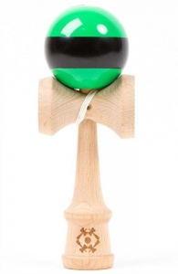 Tribute Kendama Single Stripe  | Green Black