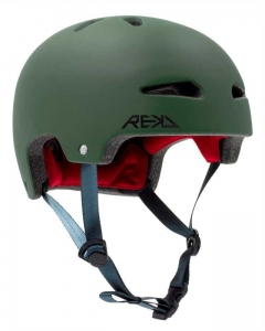 REKD Ultralite In-Mold Skate Helm | Green