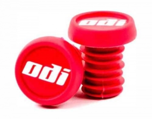 ODI End Plugs Barends Lenkerenden 2-pak | Red