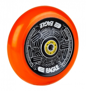 Eagle Supply Radix Full Hollowtech 115mm Stunt Scooter Rolle | Black Orange